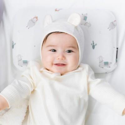 解决新生儿胎热和管理头型的BEBENUVO婴儿定型枕