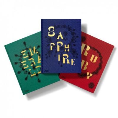 Gemfields隆重推出《蓝宝石之书》珍藏版正式完结《三大宝石》系列三重彩