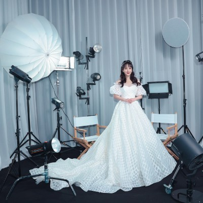 GRACE KELLY 原创设计婚纱展|一线女明星的审美狙击
